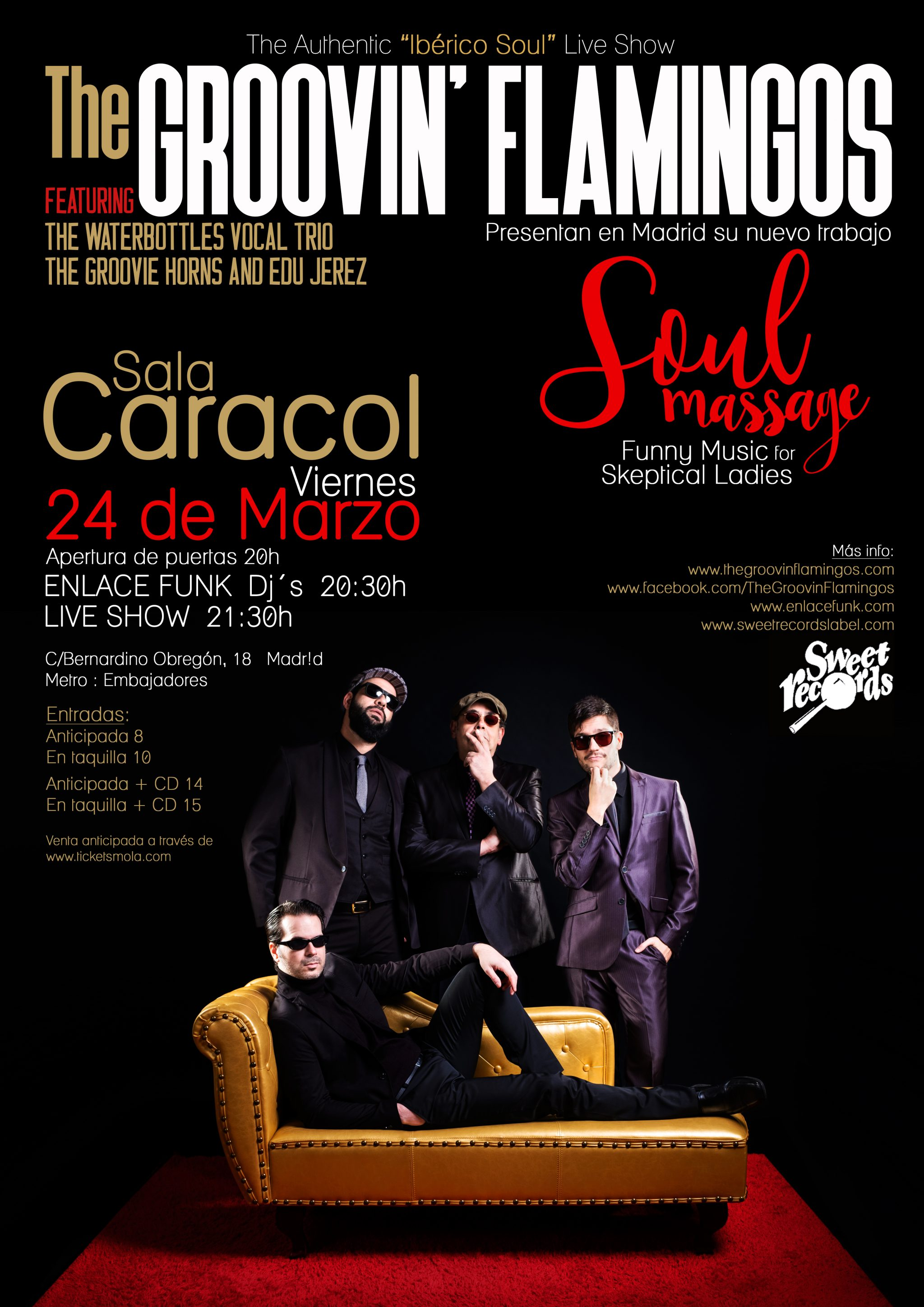 THE GROOVIN´ FLAMINGOS + ENLACE FUNK DJ´S