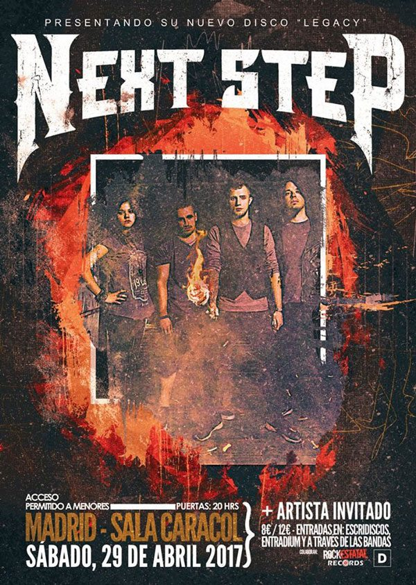 NEXT STEP EN SALA CARACOL MADRID