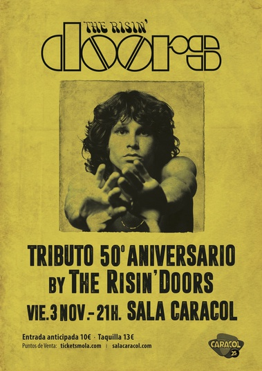 THE RISIN' DOORS · TRIBUTO 50º ANIVERARIO