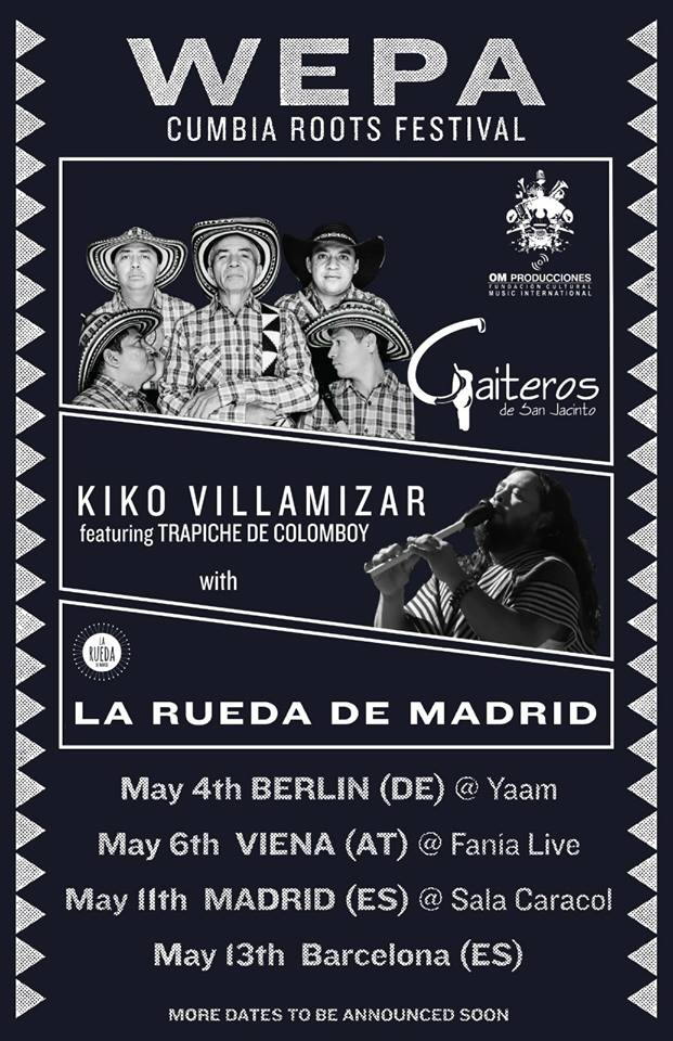 WEPA: Cumbia Roots Festival Madrid