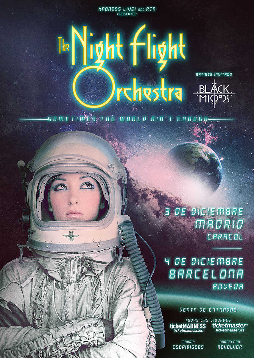 THE NIGHT FLIGHT ORCHESTRA + Black Mirrors